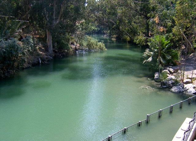 Библейская река Иордан.